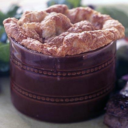 Bacon, Potato, and Gruyère Soufflé Recipe