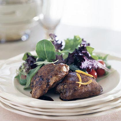 Vanilla Balsamic Chicken Recipe