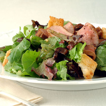 Orange Duck Breast Salad