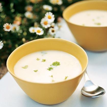 Egg, Lemon, and Rice Soup (Avgolemono Soupa)