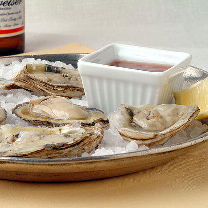 Oysters with Two Sauces