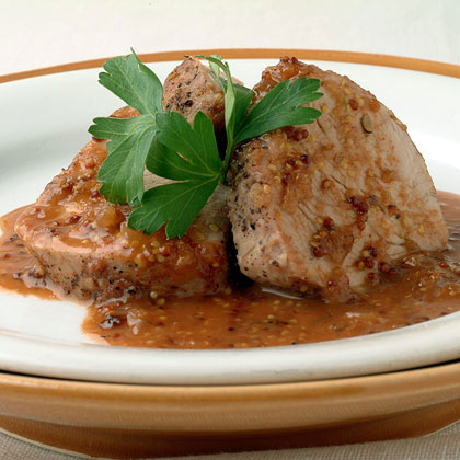 Pork Tenderloin with Guava Bourbon Sauce Recipe