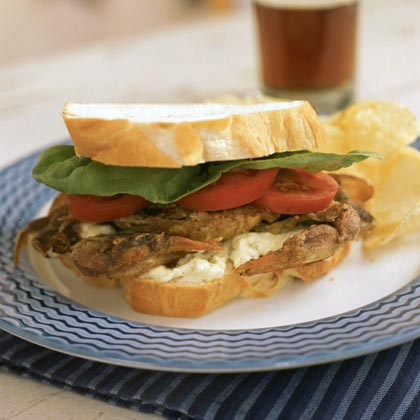 Soft Shell Crab Sandwiches Recipe Myrecipes