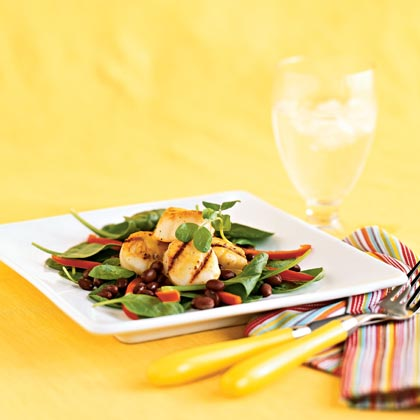 Scallops with Mango Vinaigrette