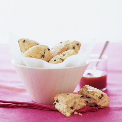 Buttermilk-Currant Scones with Lemon Glaze Recipe