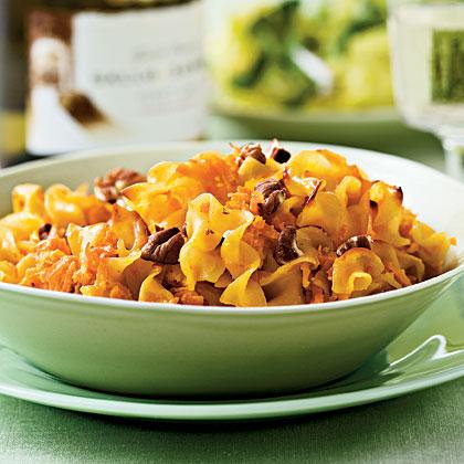 Sweet Potato Noodle Kugel Recipe