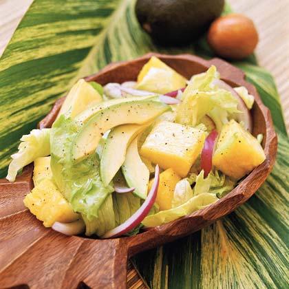 Avocado and Pineapple Salad