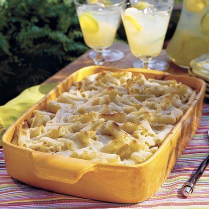 Pasta bake with ricotta recipe