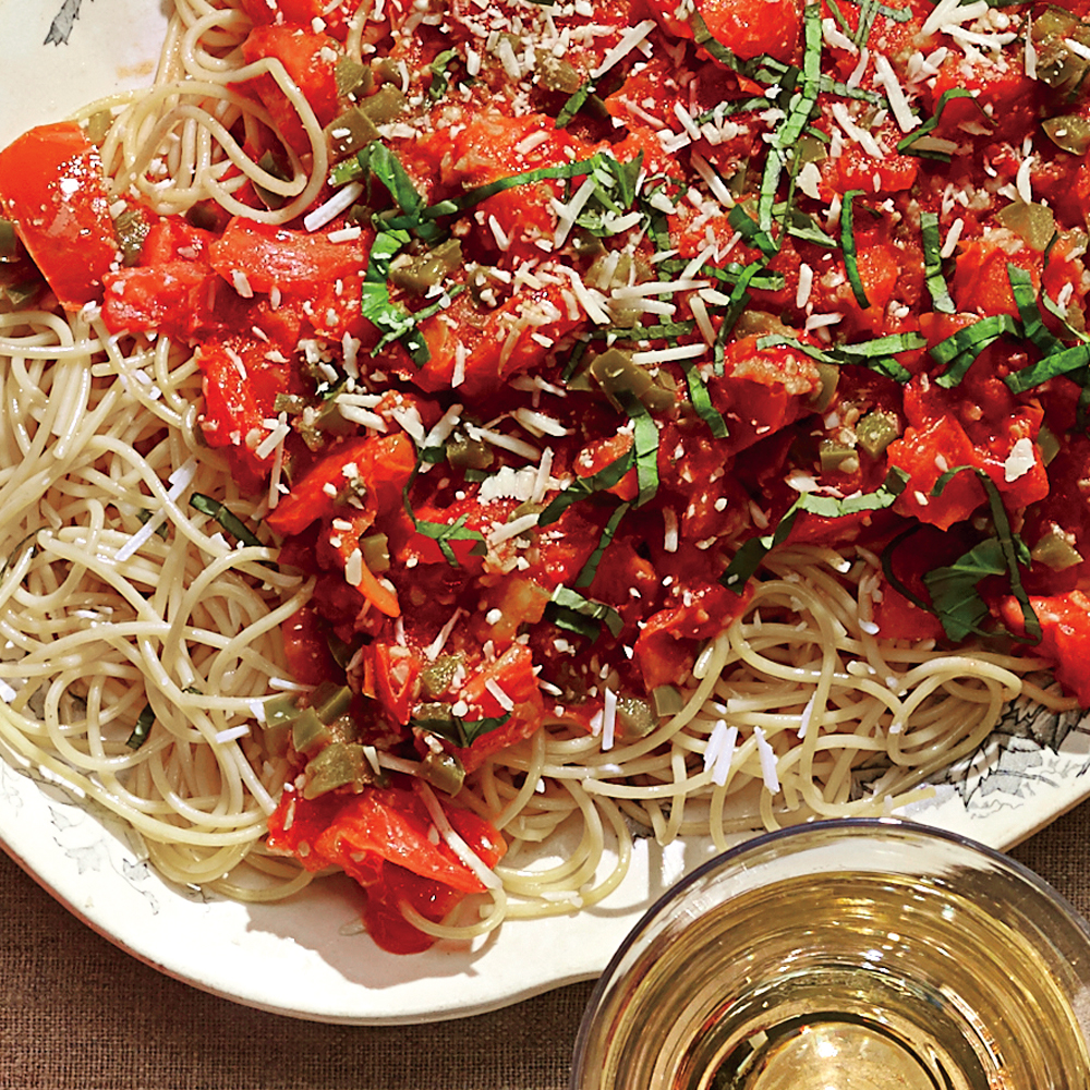 Late-Night Pasta Chez Frank Recipe | MyRecipes