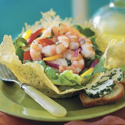 Lemon-Basil Shrimp SaladRecipe