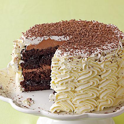 Black Forest Cherry Layer Cake Recipe