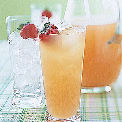 Pink Grapefruit Spritzers