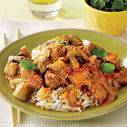 Thai Pork with Red Curry Recipe