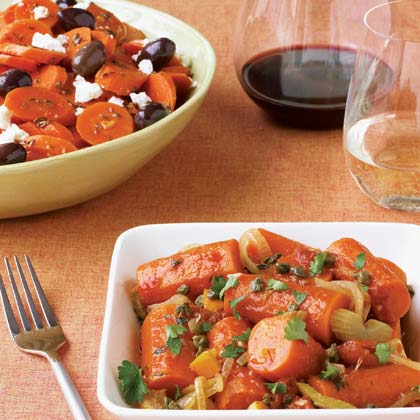 Braised Carrots with Orange and Capers Recipe