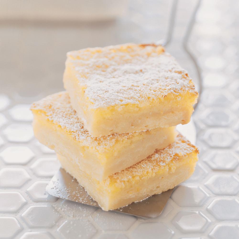 Buttery Lemon SquaresRecipe