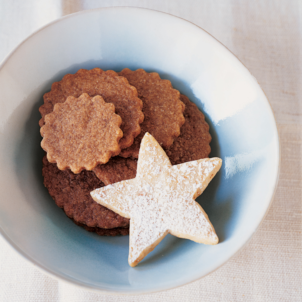 Dutch Spice Cookies RecipeThese simple almond and spiced cookies can be made in less than an hour. Use cookie cutters to make fun shapes for a party or cookie swap.