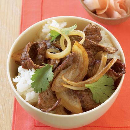 Japanese Beef Bowl Recipe