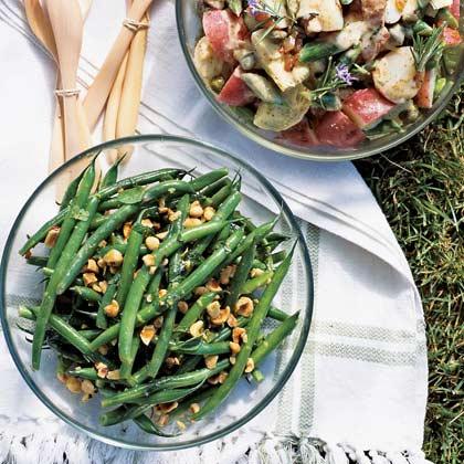 Potato Salad with Artichokes and Asparagus