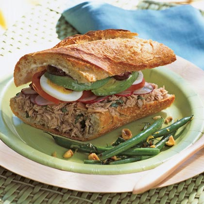 California Niçoise Sandwich