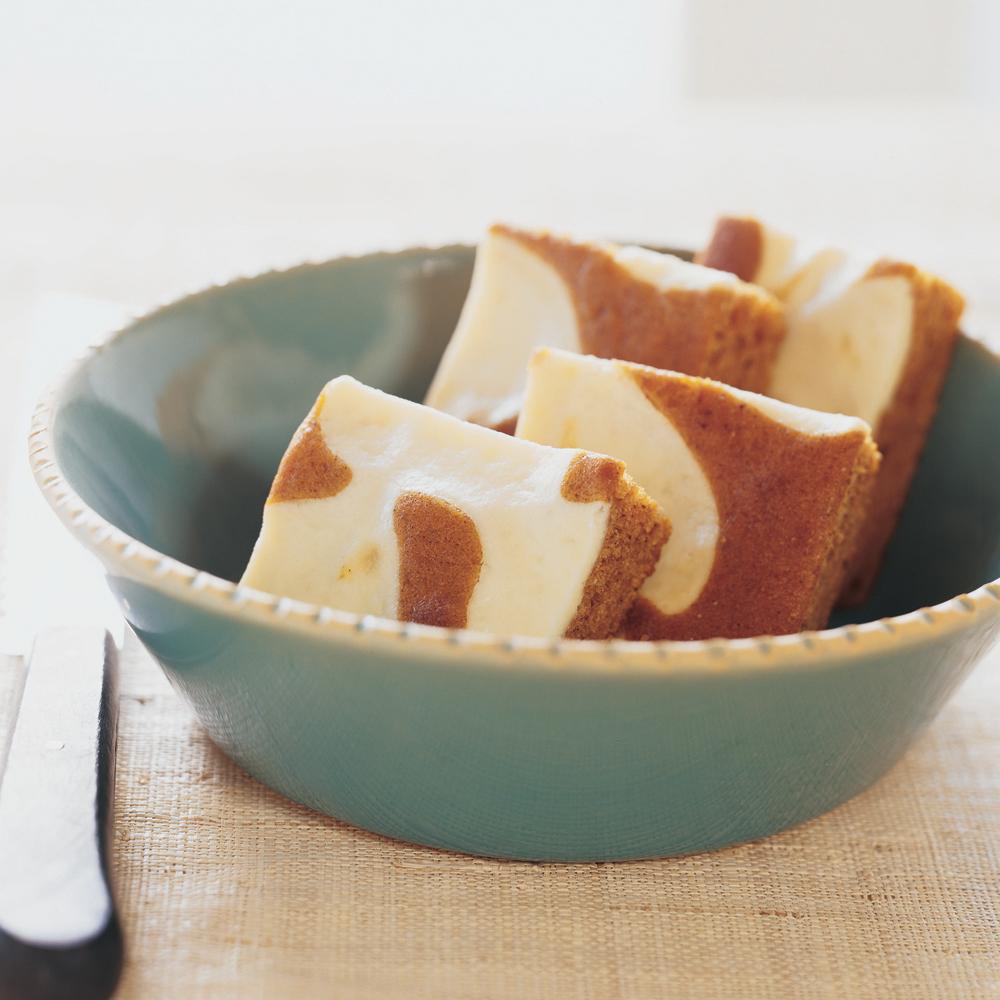 Swirled Pumpkin-Cream Cheese Bars