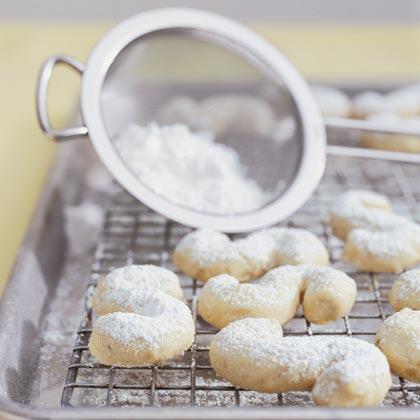 Greek Almond Tea Cakes