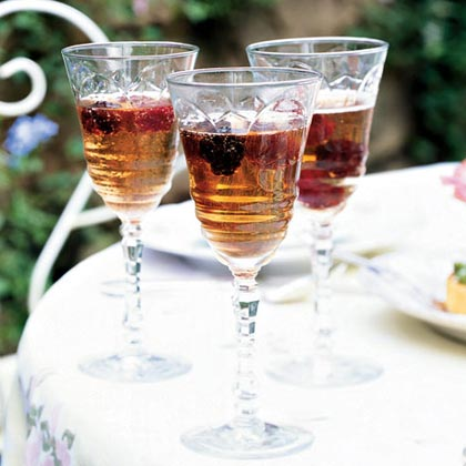 Blackberry-Chambord Royale Recipe