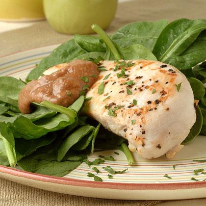 Sautéed Chicken Breasts with Creamy Walnut Sauce