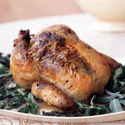 Classic Roast Chicken with Gravy Recipe