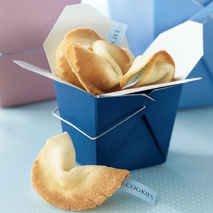 Send a Message Fortune Cookies Recipe