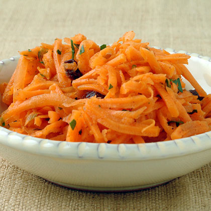 Grated Carrots with Cumin-Orange Dressing