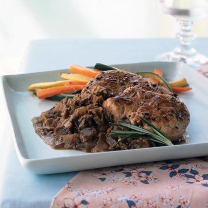 Pork Medallions with Porcini Mushroom Sauce Recipe
