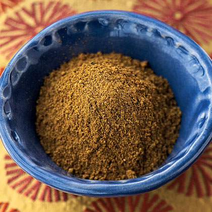 "Ras el Hanout RecipeRas el hanout means ""head of the shop"" in Arabic, referring to the best spice mixture that the shop has to offer. There is not set combination of spices, and some contain more than 50 individual flavors! This homemade Ras el Hanout blend incorporates many spices found in American pantries and adds Moroccan flair to a number of dishes."