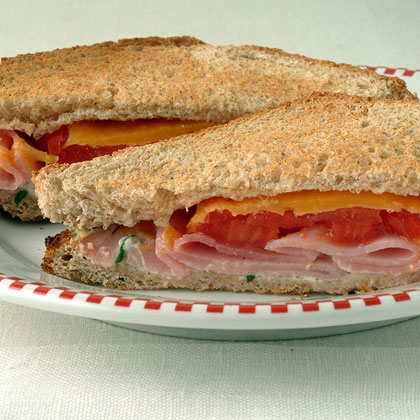 Ham and Cheese Toasted Sandwich