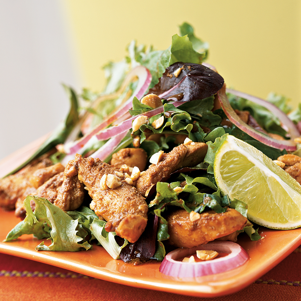 Stir Fried Chicken Salad Recipe