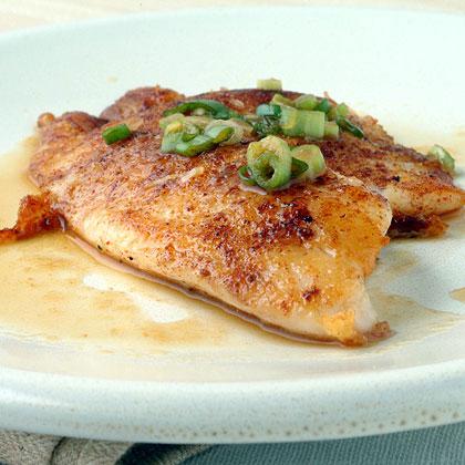 Five spice tilapia with citrus ponzu sauce recipe myrecipes for Recipes for tilapia fish