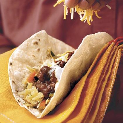 Slow-cooker Beef TacosRecipe
