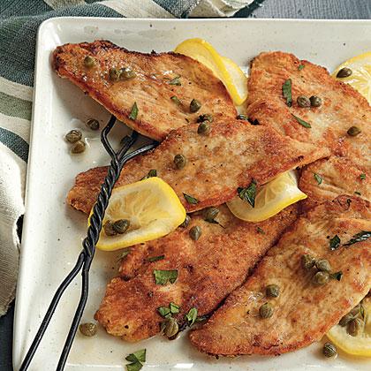 Turkey Piccata Recipe