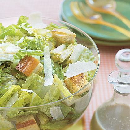 Dad's Caesar Salad Recipe