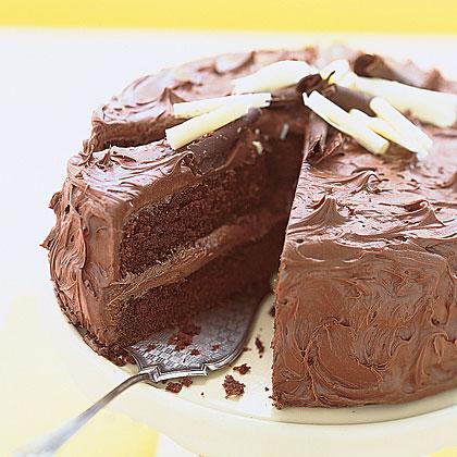 Sour-Cream Chocolate Layer Cake
