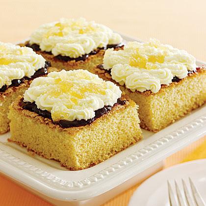 Ginger Mini Cakes