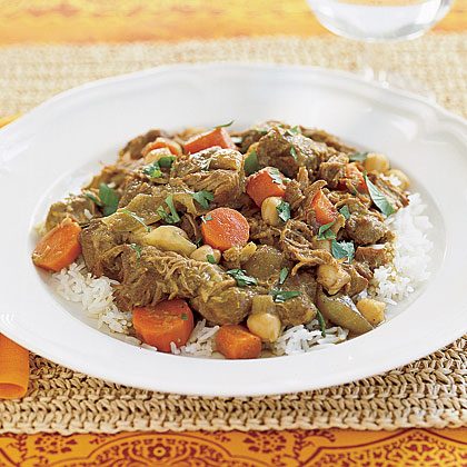 Lamb Curry with ChickpeasRecipe