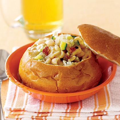 White-Bean Zucchini Soup Recipe