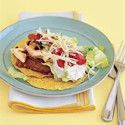 Chicken Tostadas Recipe