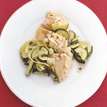 Feta Chicken with ZucchiniRecipe