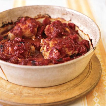 Barbecue Apricot Chicken Recipe