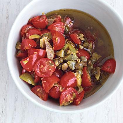 Tomato-Caper Salsa Recipe
