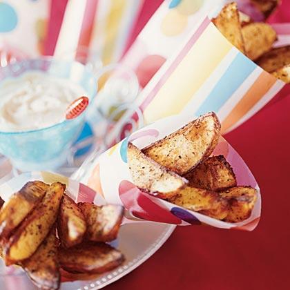 Wallenda Potato Wedges