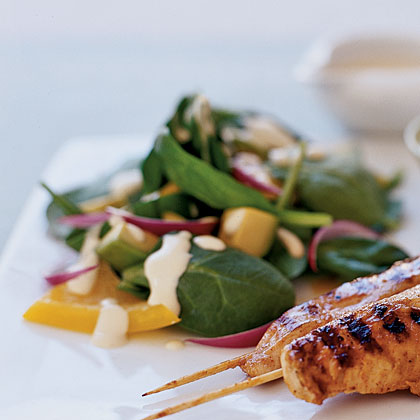 spinach-dijon-salad Recipe