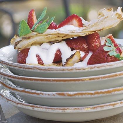 Strawberry NapoleonsRecipe