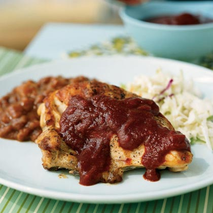 Brown Sugar Barbecue Sauce RecipeHomemade sauces tend to be much lower in sodium than commercial sauces, making them a great alternative for those watching their salt intake. This sauce gets its deep flavor from the variety of spices and other sauces that go into it–feel free to make substitutions to suit your own tastes. It's best with grilled chicken and paired with a side of coleslaw and baked beans.